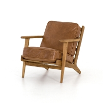 Brof Lounge Chair Palomino Leather